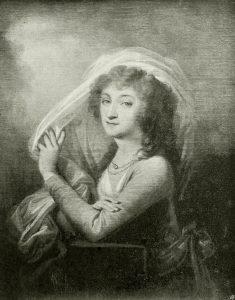 Czarno-biały portret Ludwiki Sosnowskiej