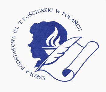 Logo Szkoły Podstawowej im. T. Kościuszki w Połańcu.