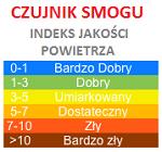 Czujnik smogu - link do strony prezentującej jakość powietrza w Połańcu.