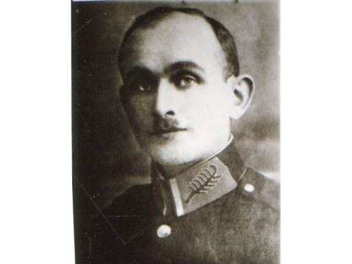 Czarno-biały portret Ignacego Kobosa.