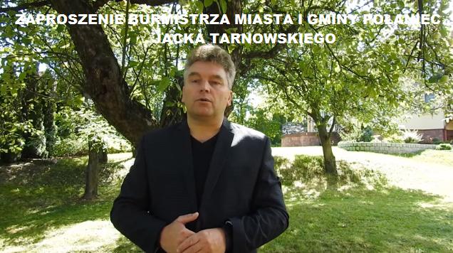 Link do filmu Zaproszenie Burmistrza Miasta i Gminy Połaniec na Narodowe Czytanie w Połańcu.