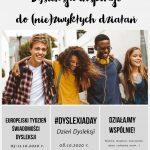 Europejski Tydzień Świadomości Dysleksji 2020.