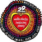 Logo Wielkiej Orkiestry Świątecznej Pomocy - 29 finał 2021.